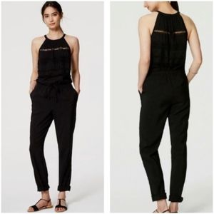 LOFT Black Jumpsuit